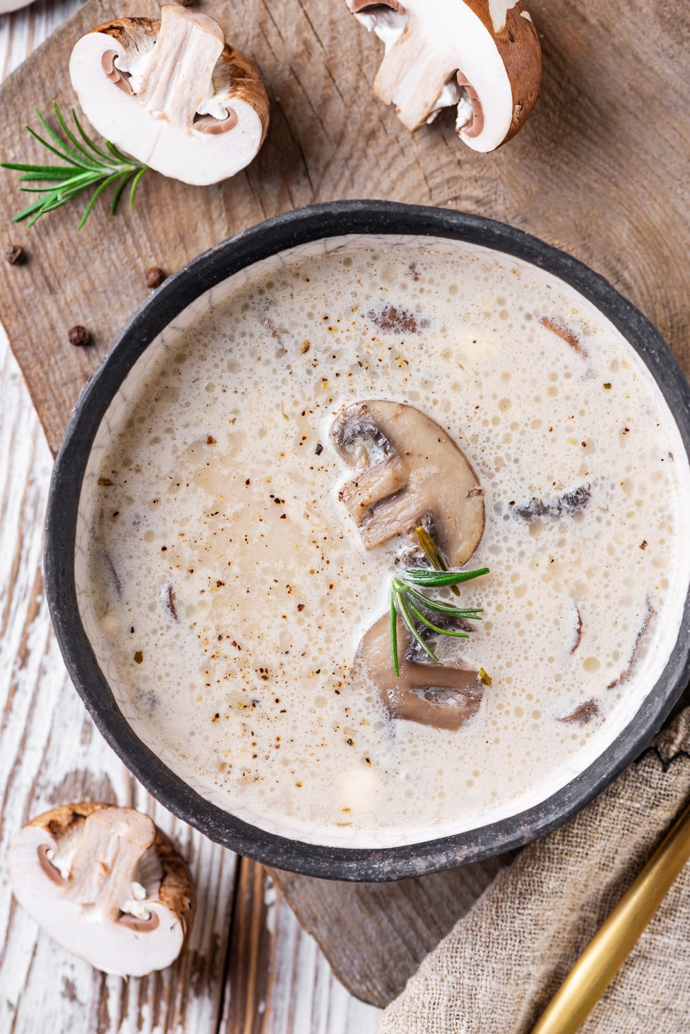 Keto Cream Of Mushroom Soup One Of The Best Soup Recipes For Keto
