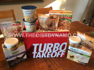 plenty of food options to choose from with Nutrisystem