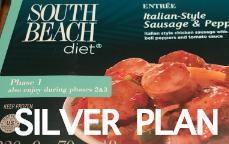 south beach diet silver plan