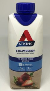 a picture of one of my favorite Atkins shakes