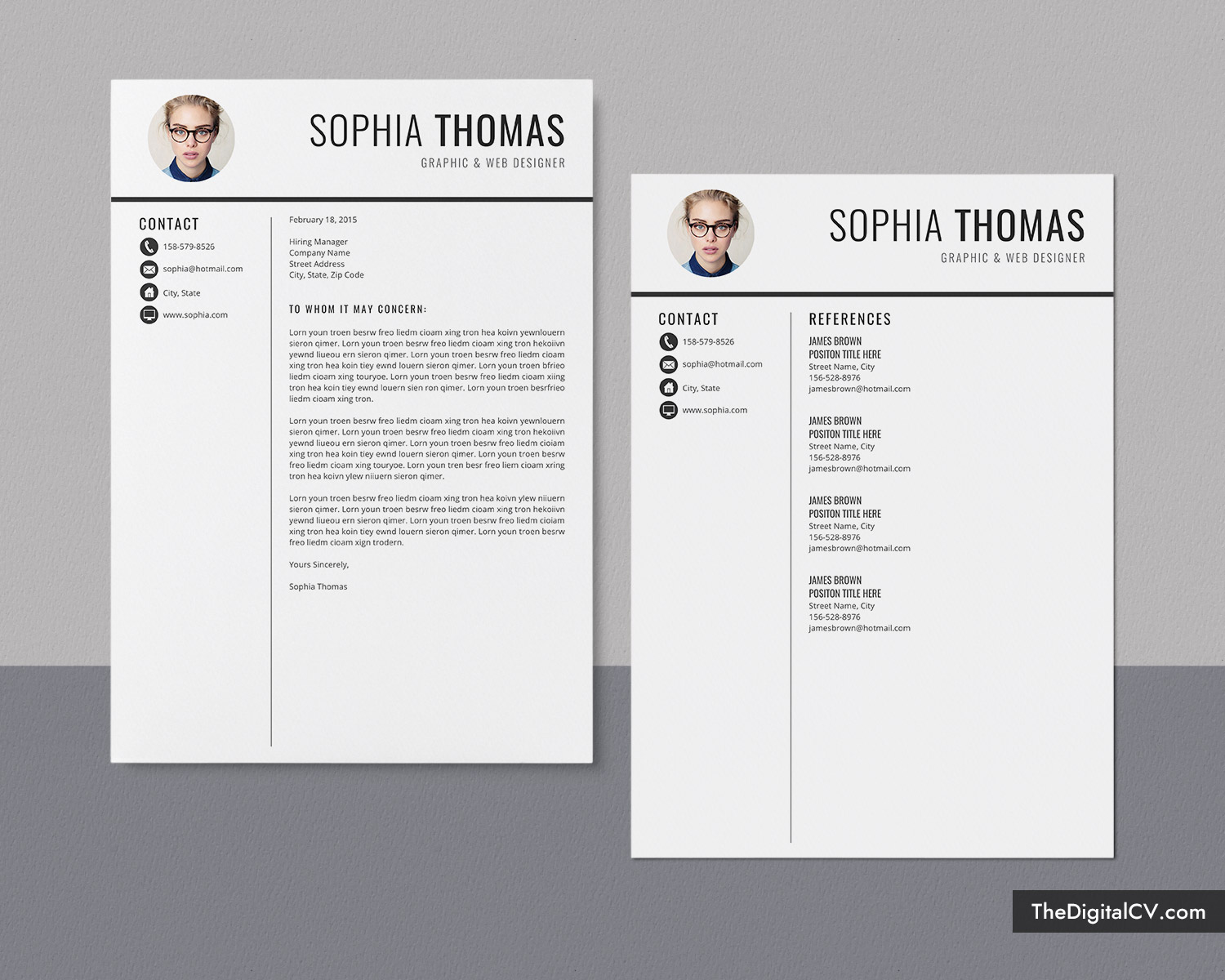 Resume formats for every stream namely computer science. Professional Resume Template Cv Template Curriculum Vitae Modern Resume Format Ms Word Resume Fresh Graduate Resume Template Student Resume Template 1 Page 2 Page 3 Page Resume Instant Download Thedigitalcv Com