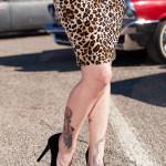 Nice tats on Miss Leopard