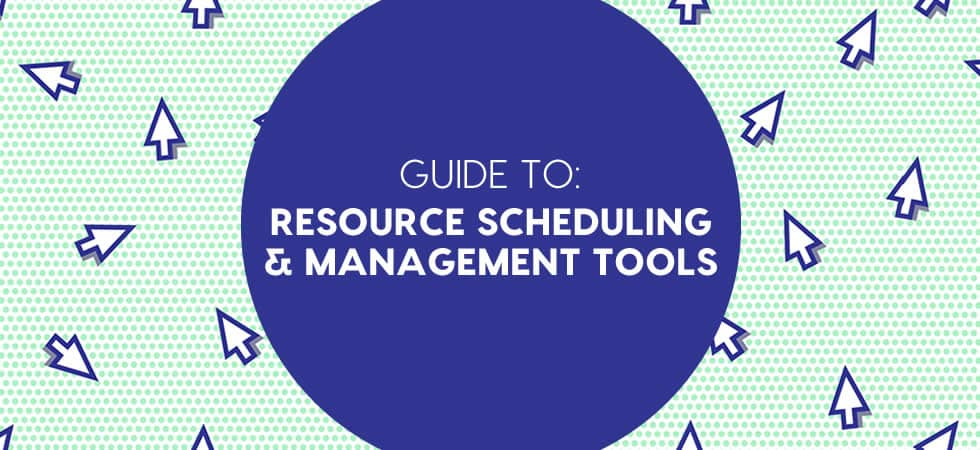 resource management software and resource scheduling tools