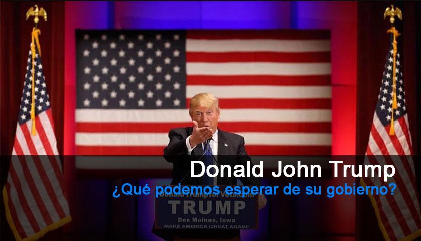 ¿Qué podemos esperar del gobierno de Donald Trump?