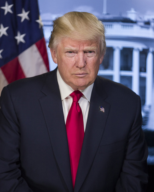 Donald Trump, US President, President EE.UU.