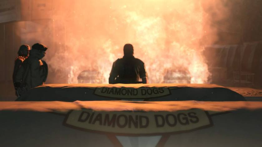 MGS Big Boss Master Miller Ocelot Diamond Dogs Outer Heaven Mother Base