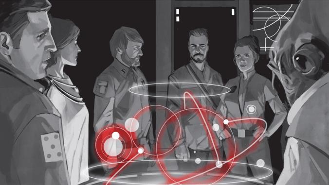 Altos mandos de la Alianza Rebelde en la conformación de la Nueva República en Star Wars.
