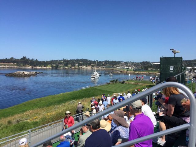 Pebble Beach US Open - 7th Tee