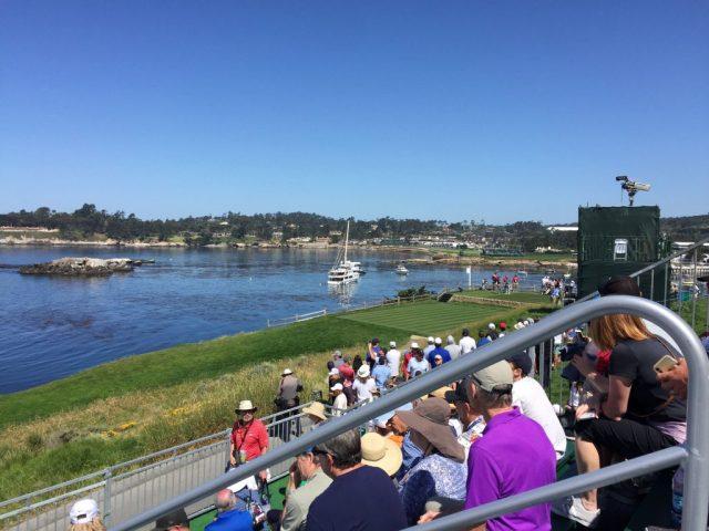 Pebble Beach US Open - 7th Tee