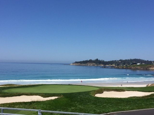 Pebble Beach US Open 10th green