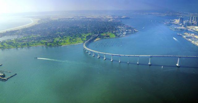 Coronado Bridge Aerial