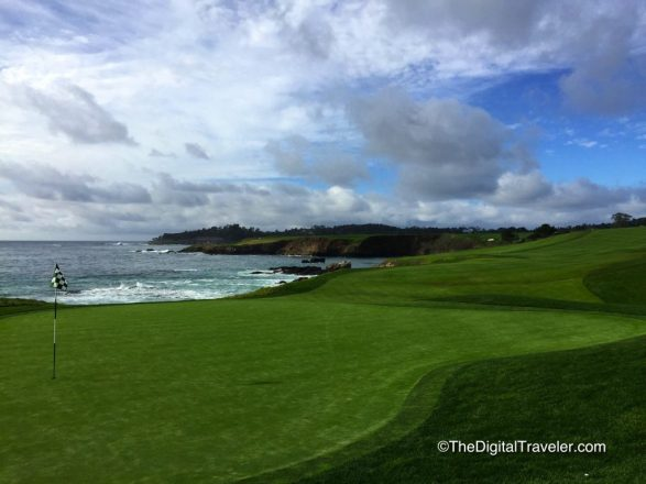 Pebble Beach 10th Green