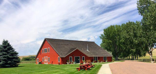 Buffalo Wyoming UCross Red Barn Art Gallery