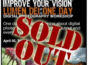 Lumen Dei One Day is sold out!