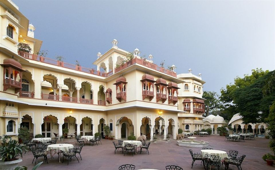 Our Jaipur accommodations, the Alsisar Haveli.
