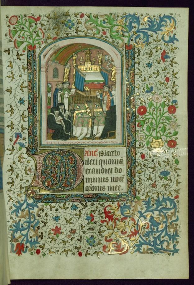 Start of Vespers of the Dead (Walters 267)