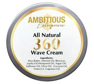 All Natural 360 Wave Pomade