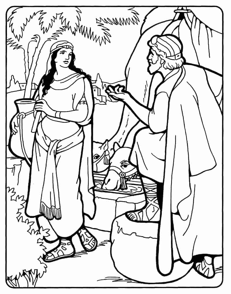 Abraham finds a wife for Isaac
