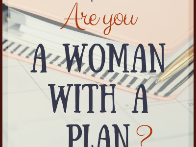 A Woman with a Plan