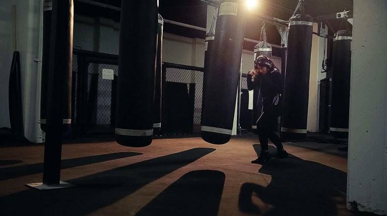Inside Rise Athletics LA Boxing Studio