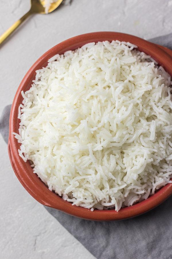 perfect instant pot basmati rice the