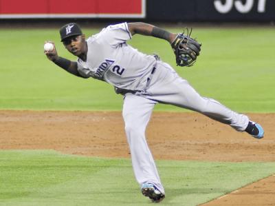 Hand infections in baseball - Hanley Ramirez Photo