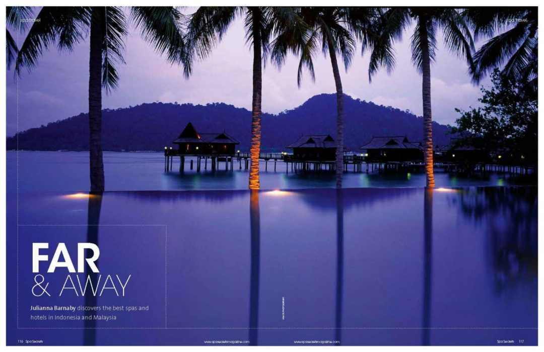 Best Spas in Indonesia & Malaysia, Julianna Barnaby