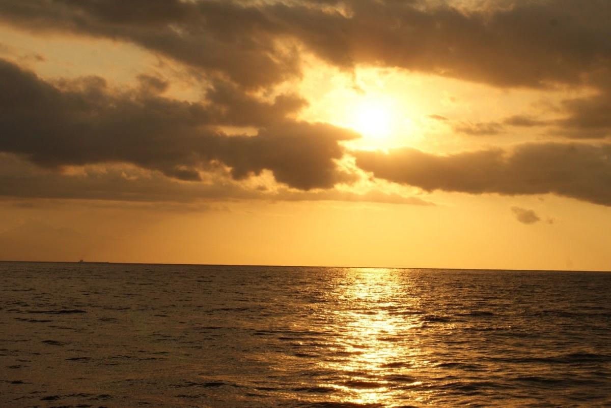 Sunset from Gili Trawangan, Indonesia
