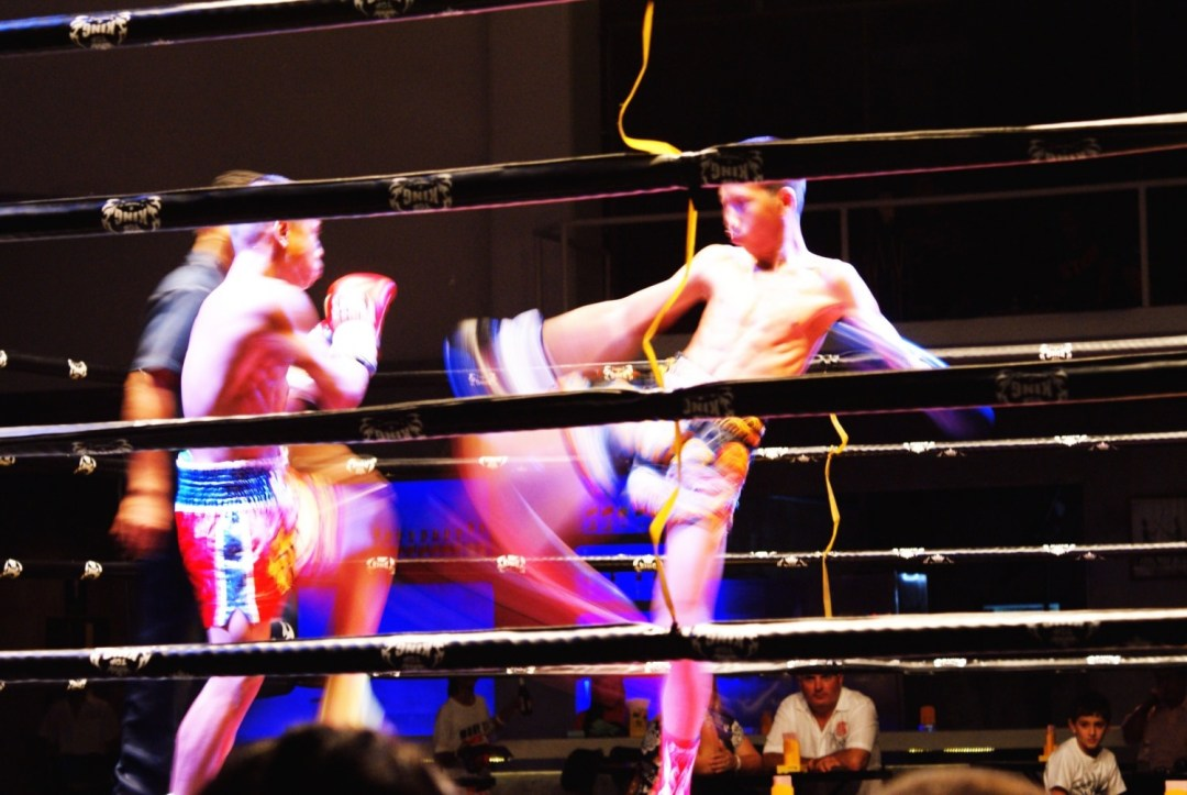 Muay Thai Match in Ko Samui