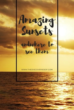 amazing sunsets and where to see them