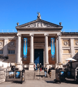 The Ashmolean Museum in Oxford