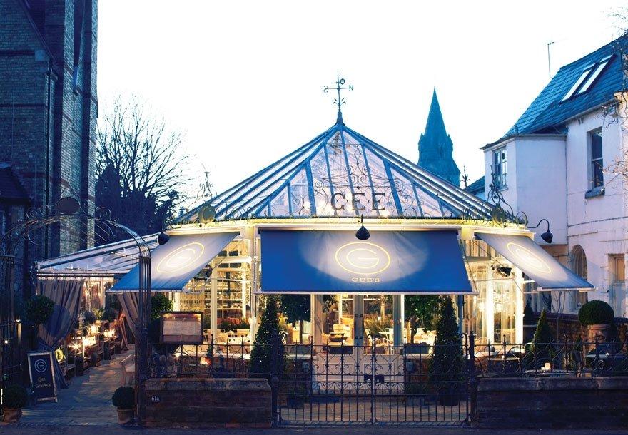 Gee's Restaurant, The Best Restaurant in Oxford