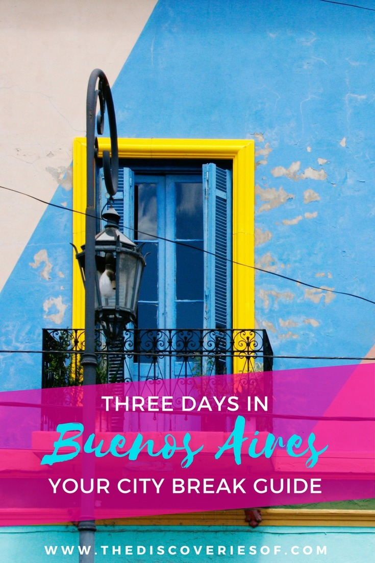The Discoveries Of's Buenos Aires City Guide. Everything you need for a city break in the Argentinean capital.