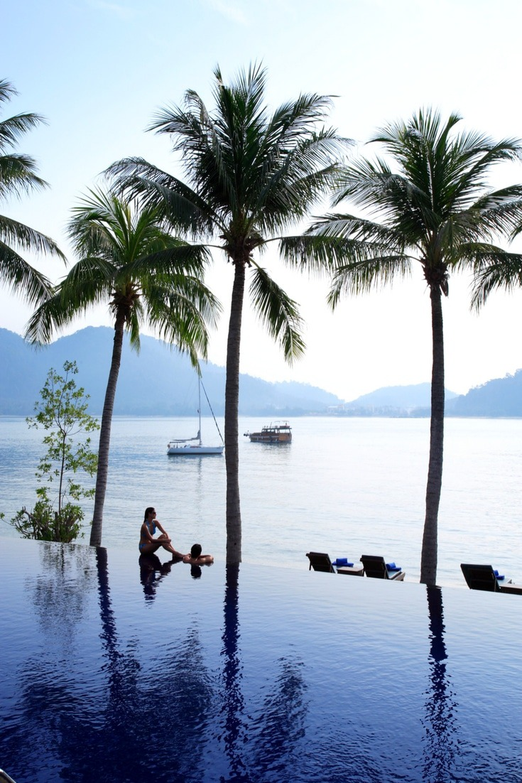 If there's one thing luxury hotels do incredibly its pools. Sure, they have great interiors, bedrooms designs and amenities look at that infinity pool. Read our review of Pangkor Laut in Malaysia, one of the best luxury hotels in Asia
