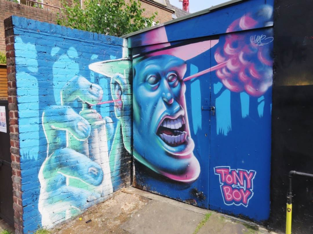 Tony Boy hawley street Camden Street Art