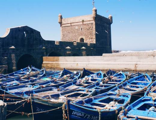 The Best Things to do in Essaouira - Fishing Boats by the Port