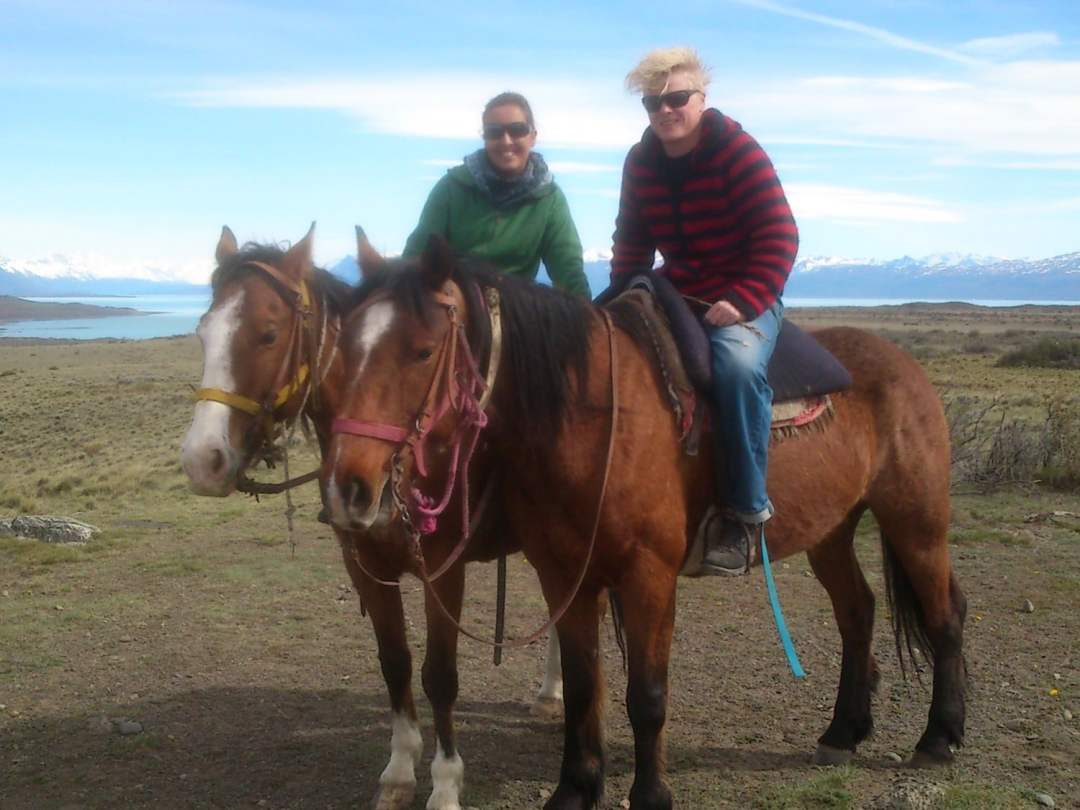 Riding in Patagonia with Gauchos