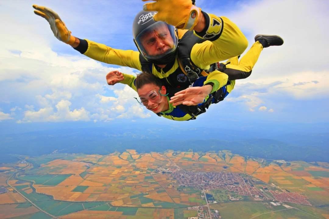 Skydiving Bulgaria