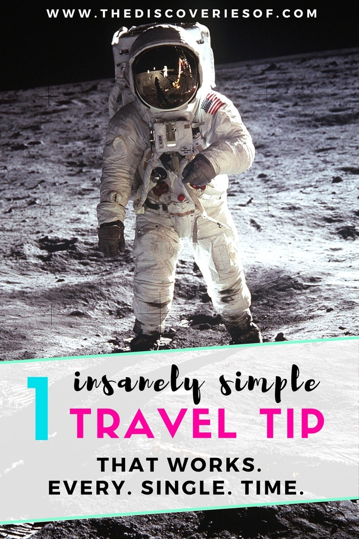 Get rid of all the travel tips and tricks. Here's the one travel tip that you need to use every time you go travelling, backpacking, away on business or on any other trip. Works like a dream every single time