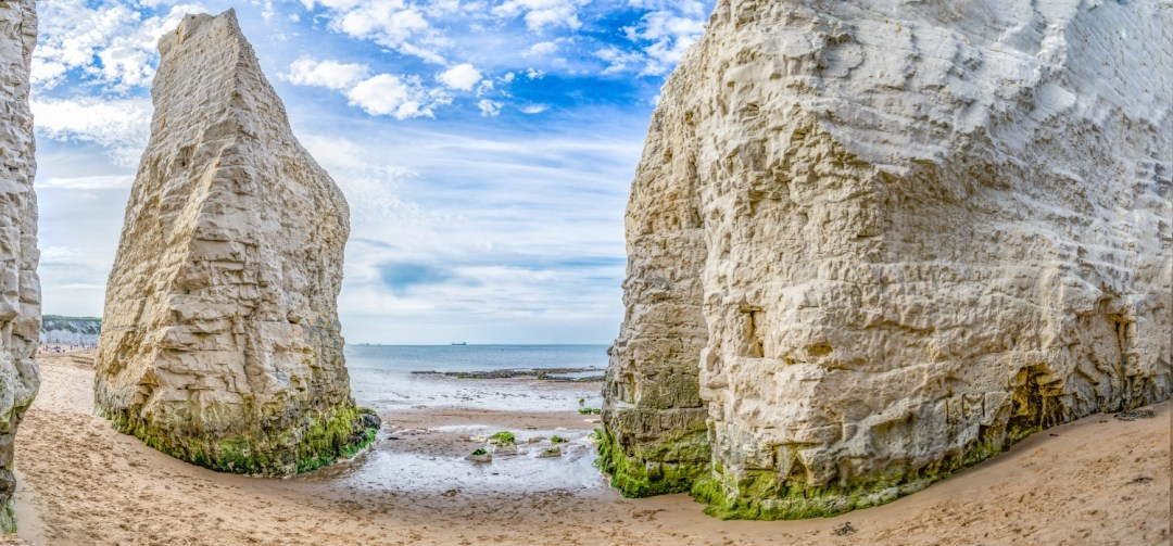 Kingsgate Bay, Broadstairs, UK