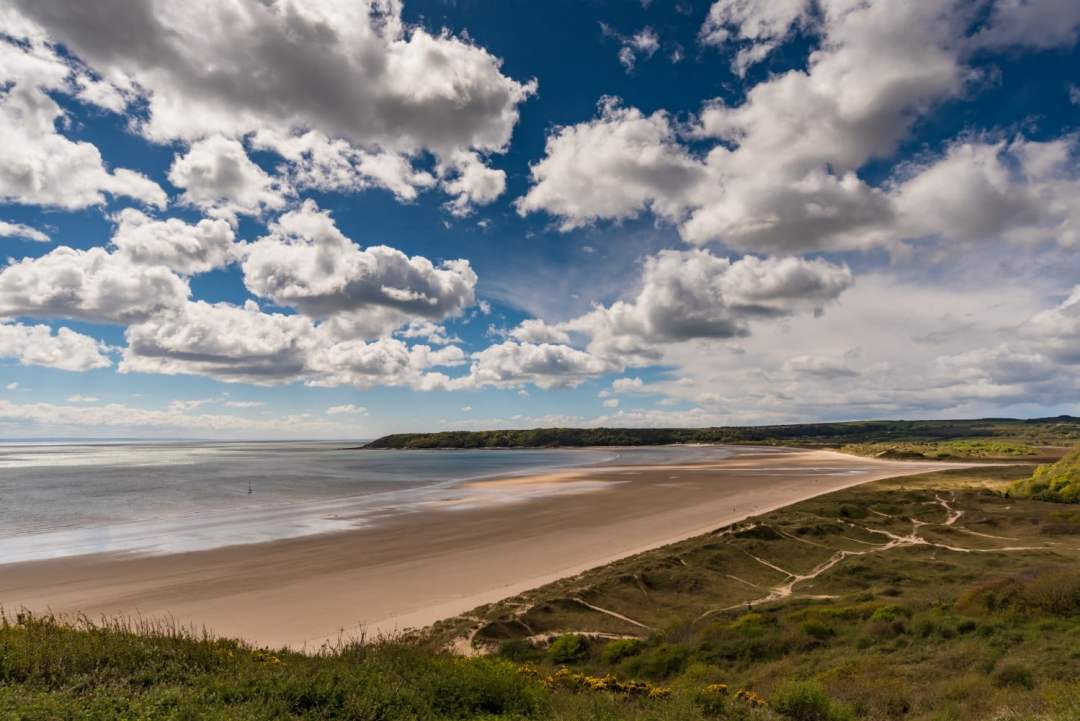 Oxwich Bay in Wales is a stunning beach in Gower, Wales. Here's our collection of amazing beaches in the UK