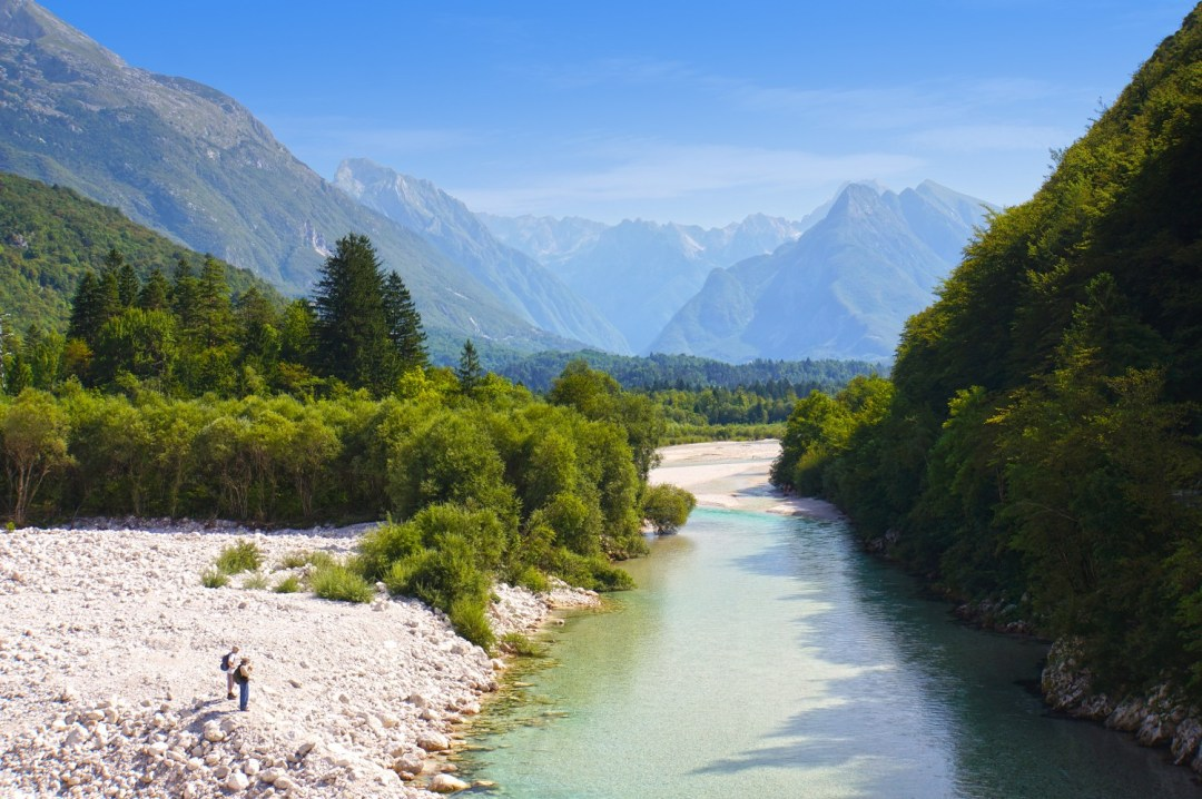 Soca Valley in Slovenia - a real highlight of hiking in Slovenia
