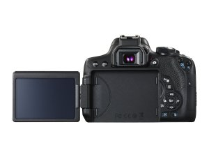 Canon EOS 750D Screen