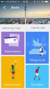 Google Trips is one of the best free travel apps