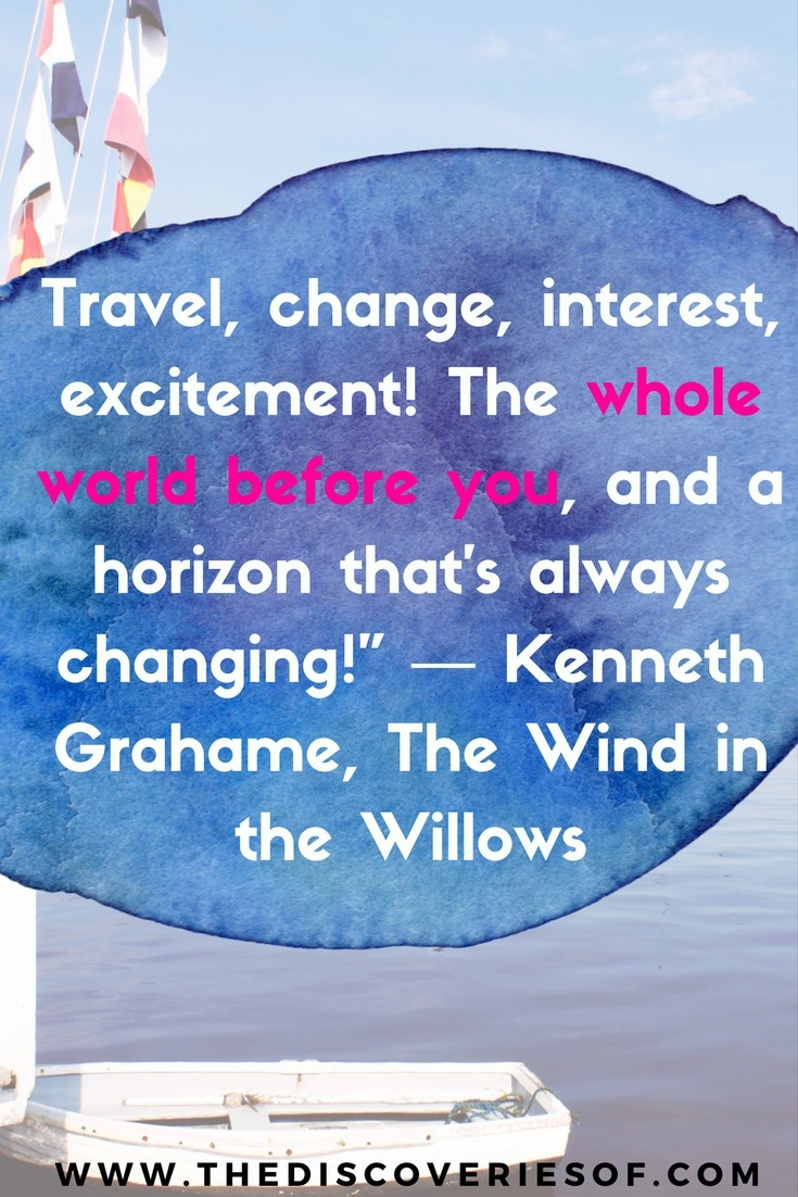 Travel for the love of it. The very best journey quotes to get you on the road.