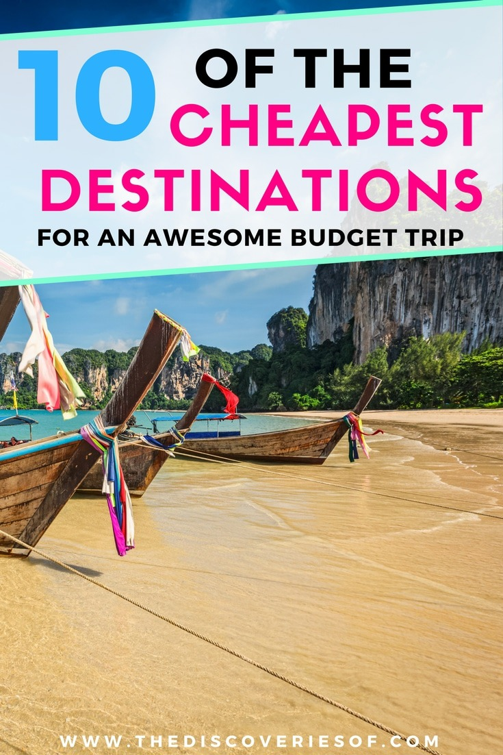 10 cheap travel destinations to rock your next budget trip. Backpacking destinations and tips to inspire your next adventure. Put these cheap countries on your bucket list pronto. Read now.