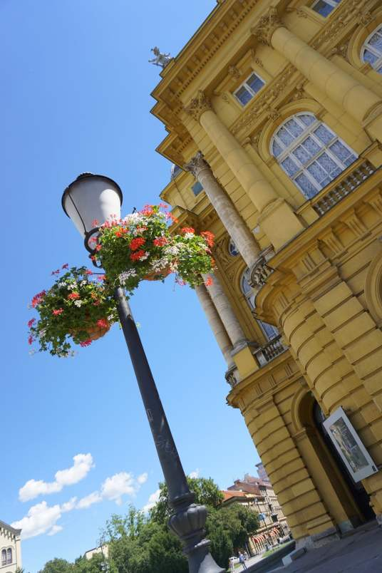 Awesome Reasons to Go to Zagreb -Colourful Architecture. Read more.