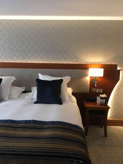 Hotel room at The Culloden Northern Ireland