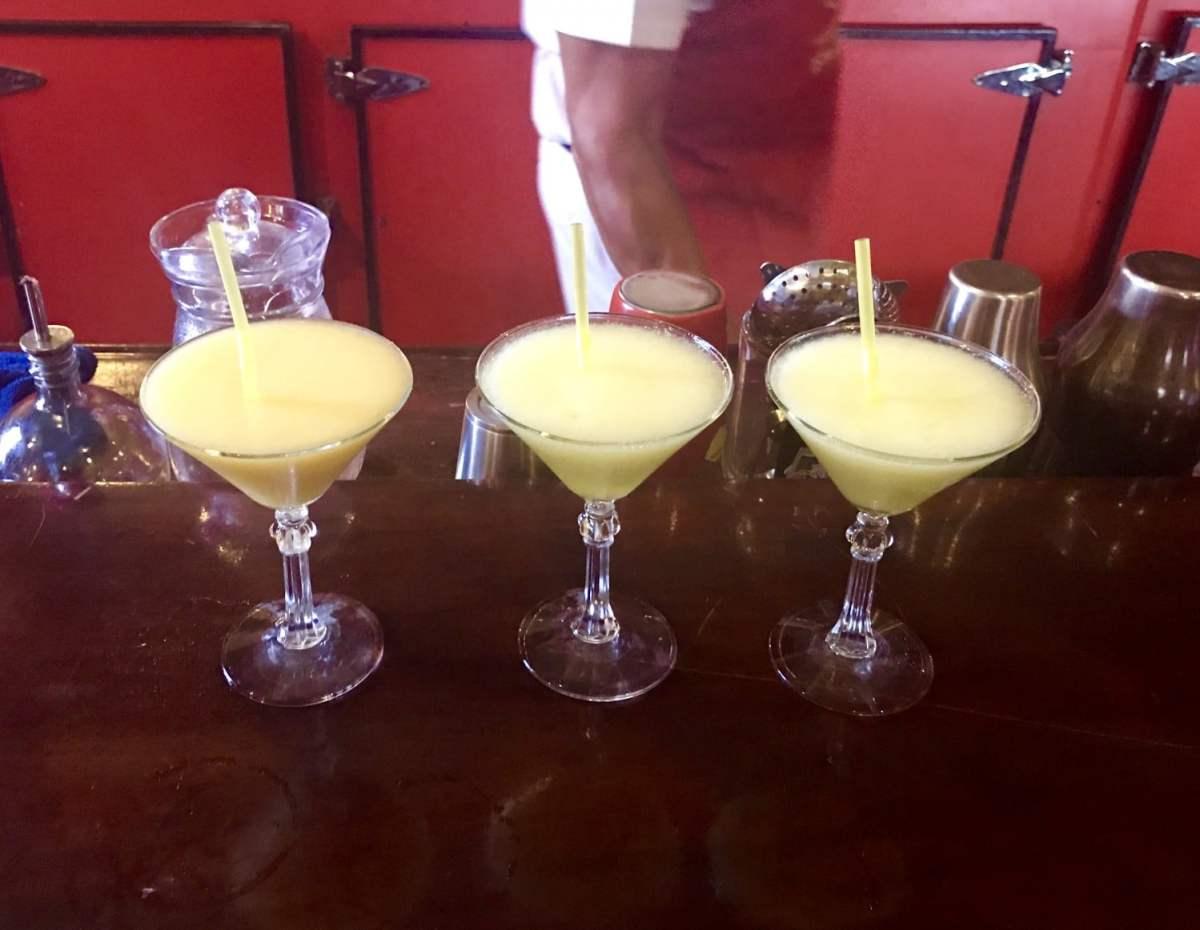 drinks at El Floridita Havana