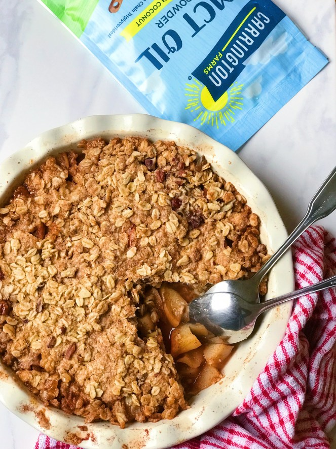 Deliciously Healthy Apple Crisp The Dish On Healthy